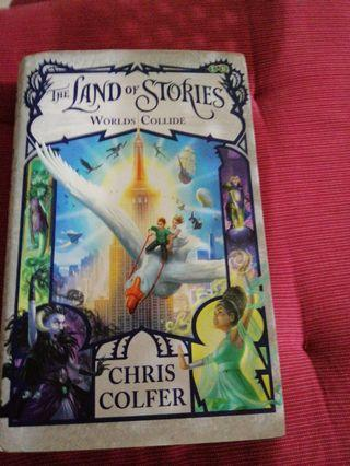 Hardcover the land of stories worlds collide