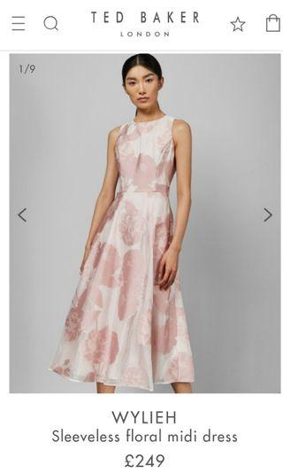 Ted Baker NWT Pink Dress