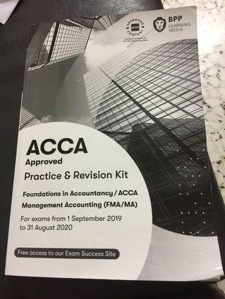 ACCA Foundation FMA/MA Practice Kit