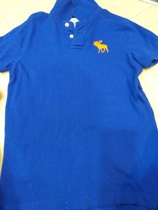 🚚 Abercrombie&Fitch men  polo t shirt