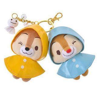 Chip and Dale 雨天雨衣匙扣