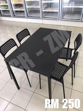 Ikea Dining Table + 4 Chair