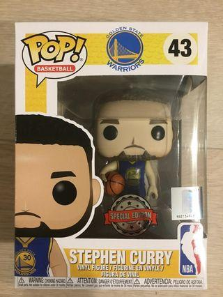 Funko Pop - NBA basketball Golden State Warriors Stephen Curry Special edition