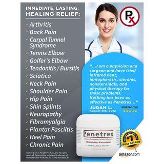 Penetrex Pain Relief Therapy [2 Oz] – Apply Penetrex Anywhere You Experience Pain, Discomfort, Tingling or Numbness (Back, Neck, Knee, Foot, Shoulder, etc.). Trusted by 2 Million+ Sufferers Since 2009