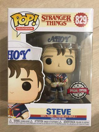 Funko Pop - Stranger Things Steve Baskin Robbins Special edition