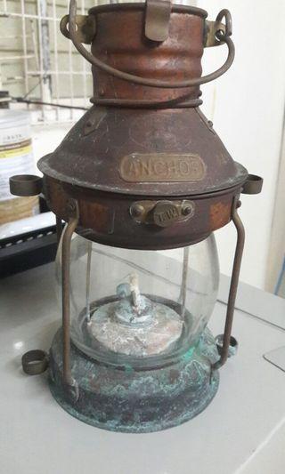 香港製古董船燈(編號4A4484)