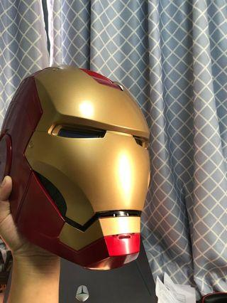 Marvel Legend Iron man頭盔 1:1 可戴 發光 少花