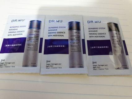 🚚 DR.WU 超彈力緊緻精華露3包 6ml