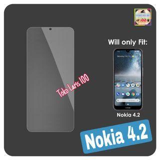Tempered Glass - Anti Gores Nokia 4.2 - Pelindung Layar