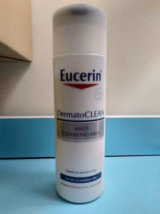 Eucerin Mild Cleansing Milk (For Dry & Sensitive Skin)