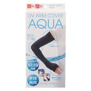 日本 AQUA 水陸兩用冷感防曬手套