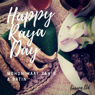 Selamat Hari Raya Maaf Zahir Batin dari Barang.ltd
