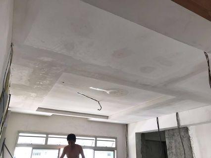 Ceiling partition false ceiling Lbox cornice etc