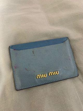 Miumiu Card Holder