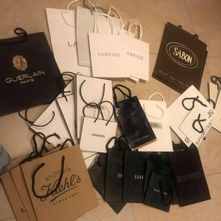 美妝品牌紙袋