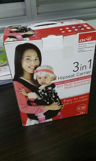 Ace hipseat baby carrier