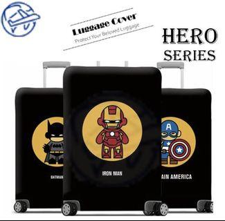 (PRE-ORDER) MARVEL TRAVEL LUGGAGE COVER PROTECTOR ELASTIC DUSTPROOF