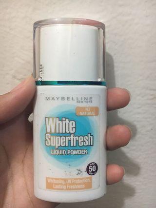 Maybelline White Superfresh Liquid Powder