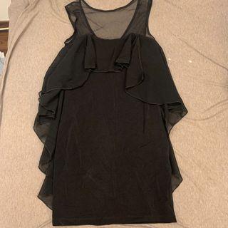 全新黑色緊身小洋裝