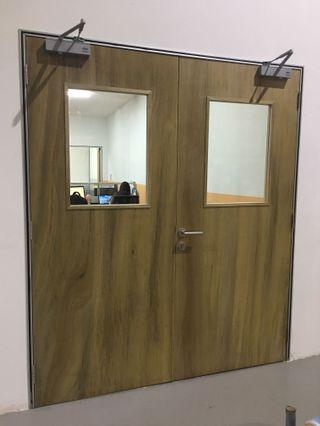 Office Door Plain