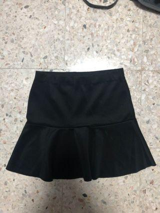 Mini A-Line Skirt (Black)