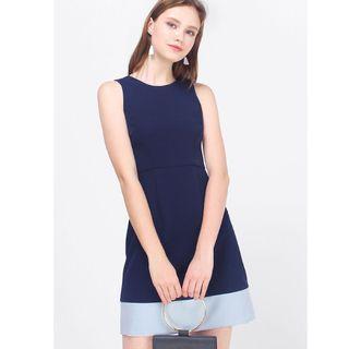 (XL) Fayth Drea Colourblock Dress