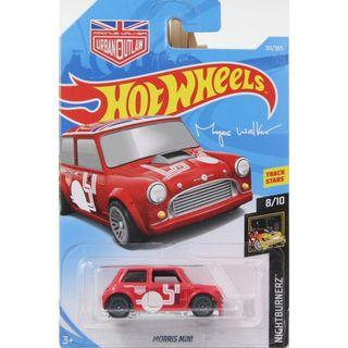 Hotwheels 2018 Nightburnerz Morris Mini Magnus Walker Urban Outlaw Rare Hot Wheels