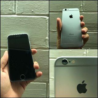 iPhone 6 64GB Gray ex pemakaian pribadi BU