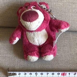 🚚 迪士尼 樂園 熊抱哥 草莓熊 吊飾