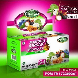 HABBASAYFIT 5IN1 MANGGIS SIRSAK PROPOLIS 5in1