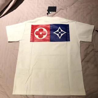 Louis Vuitton Multi Logos Monogram Flowers Tee
