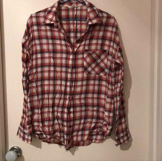 3 for $10 Plaid Tops