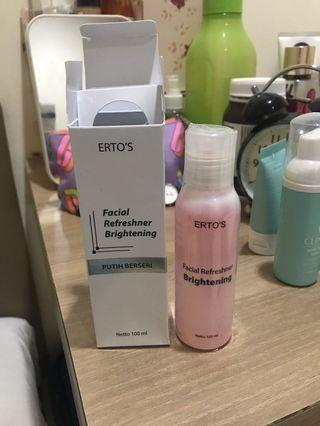 Ertos facial foam