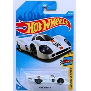 Hotwheels 2018 Legends Of Speed Porsche 917 LH Rare Hot Wheels Gulf Racing
