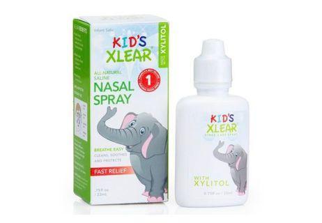 預購 Kids Xlear 天然鹽水鼻噴霧劑 木糖醇 嬰幼兒適用 22ml