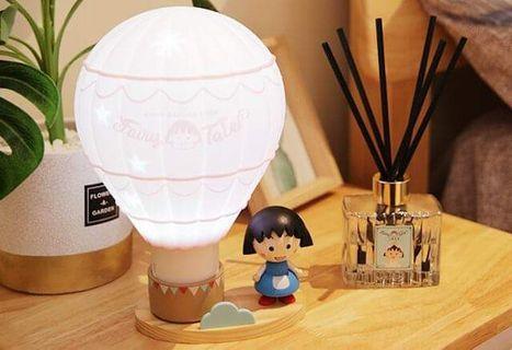 台灣711小丸子限量熱氣球變色夜燈