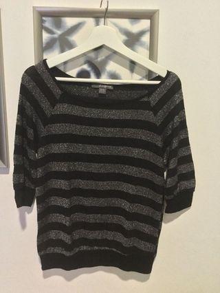 Knitted Top - Broad Shoulder