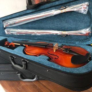 🚚 Brand new Handmade Violins great sound guaranteed! All sizes 1/16 1/10 1/8 1/4 1/2 3/4 3/4 full size