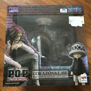One Piece 海賊王 POP Trafalgar Law 羅 POP (柯拉松回憶) 限量 日版 全新未開
