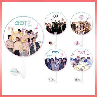 KPOP Transparent Handfan