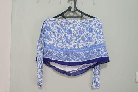 Off shoulder blouse [REPRICE]
