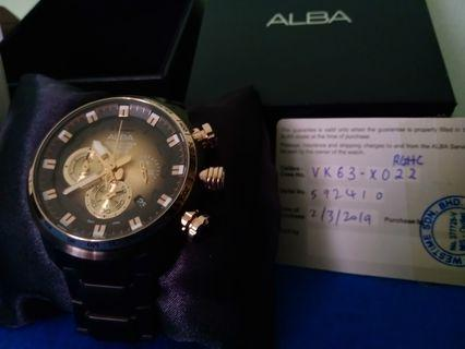 ALBA WATCH LIMITED EDITION