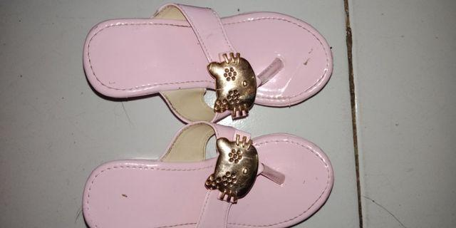 Wedges hello kitty #maulol