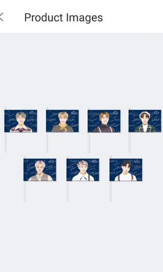 BTS 5th muster image flag