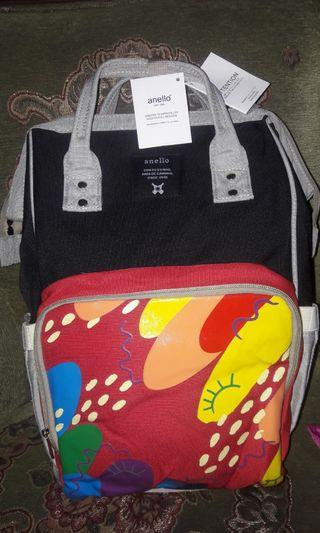 Anello Diaper Bag High Quality Import