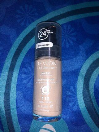 Revlon Colorstay Foundation Normal/Dry 110 Ivory made in USA