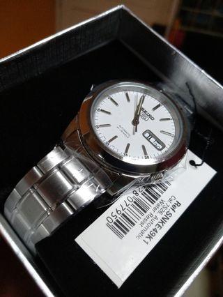 Seiko Watch SNK49K1 With  Pocotime Warranty