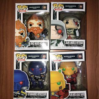 Warhammer Funko Pop ( LIMITED STOCKS)