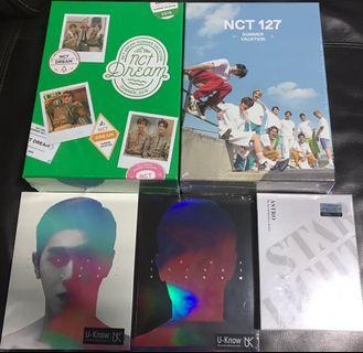 [New Arrival]  ASTRO - ASTRO The 2nd ASTROAD to Seoul [STAR LIGHT] DVD NCT 127 - 2019 NCT 127 SUMMER VACATION KIT NCT DREAM - 2019 NCT DREAM SUMMER VACATION KIT U-Know - Mini Album Vol.1 [True Colors]