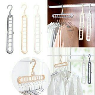 Magic Hanger storage rack adjustable anti slip hanger hooks